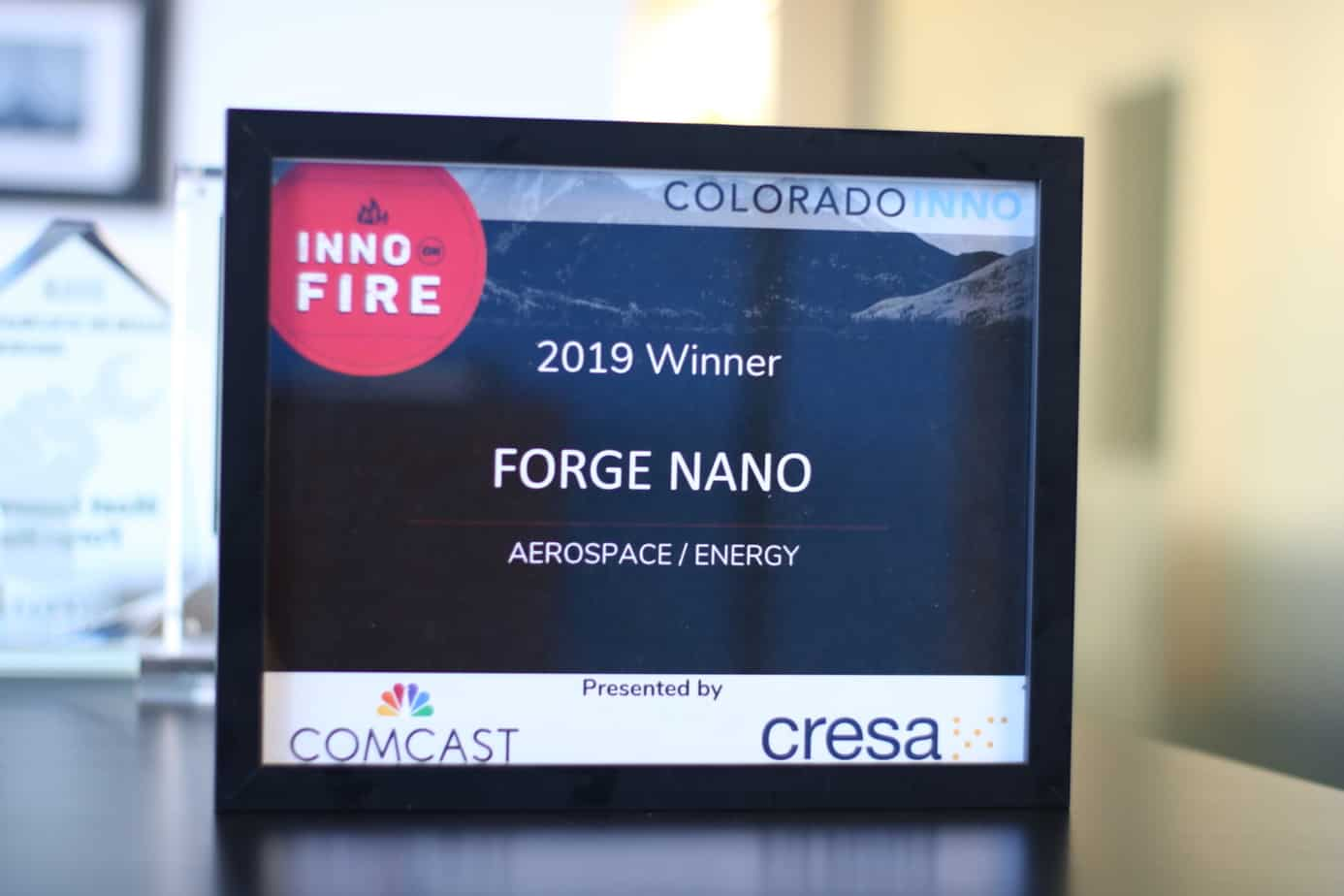 Inno on Fire Award